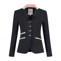 Juuls Navy Glamour Competition Jacket with rosegold details
