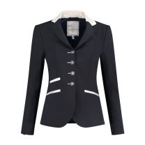 Juuls Navy Glamour Competition Jacket with silversand details