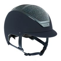 Kask Dogma Chrome Light Swarovski Carpet Navy