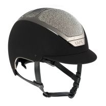 Kask Dogma Chrome Light Swarovski Carpet Black/Silver