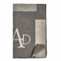 Adamsbro FW'20 Merino Luxe Throw Square Grey
