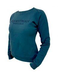 Equestrian Stockholm Sweatshirt Moroccan Blue