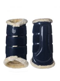 Equestrian Stockholm brushing boots front Midnight Blue FW'19