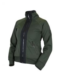 Equestrian stockholm SS'21 Deep Olivine Bounded Fleece jacket