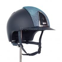 KEP Cromo T Blue Galassia with Swarovski chinstrap
