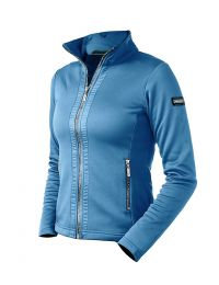 Equestrian Stockholm SS'21 Parisian Blue fleece jacket