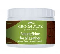 Groom Away Patent Shine for Leather 200g