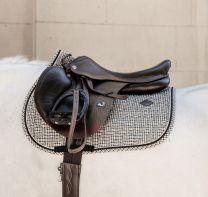 Kentucky Pied-de-Poule Jumping Saddle Pad