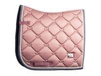 Equestrian Stockholm dressage saddle pad Pink Pearl