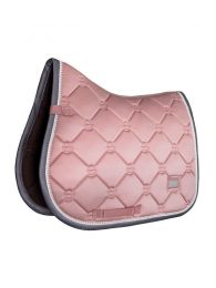 Equestrian Stockholm jumping saddle pad Pink Pearl