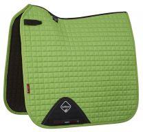 LeMieux Pro-Sport saddle pad lime green suede