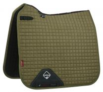 LeMieux Pro-Sport saddle pad Olive suede