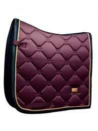 Equestrian Stockholm dressage saddlepad Purple Gold FW'19