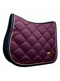Equestrian Stockholm jumping saddlepad Purple Gold FW'19
