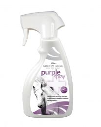 Groom Away Purple Spray