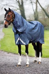 Rhino Plus Turnout rug with hood pony 200g