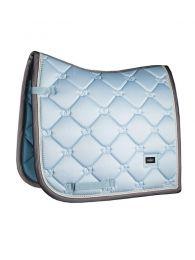 Equestrian Stockholm dressage saddle pad Ice Blue