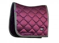 Equestrian Stockholm dressage saddle pad Deep Plum