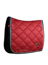 Equestrian Stockholm dressage saddle pad Grenadine
