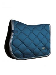 Equestrian Stockholm jumping saddle pad Moroccan Blue