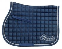 Spooks FW'20 jumping saddle pad Glitter