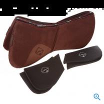 LeMieux Pro-Sorb Plain half pad brown