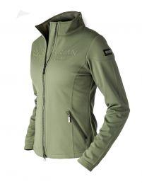 Equestrian Stockholm softshell jacket Olive