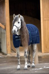 Rambo Stable Rug Heavy Navy with white 400 gr.