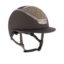 Kask Star Lady Swarovski on the rocks brown
