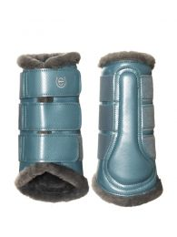 Equestrian Stockholm SS'20 Brushing Boots Steel Blue