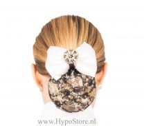 Nilette hairnet diamond with bow