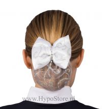 Nilette hairnet with bow and strass