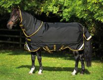 Rambo Supreme Turnout Lite 0g Black & Gold