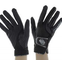 Samshield V-Skin Swarovski Gloves Brown