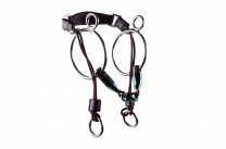 Trust Sweet Iron double jointed curb gag bit 16mm