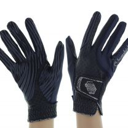 Samshield V-Skin Swarovski Gloves Blue