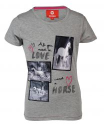 Red Horse T-shirt with print