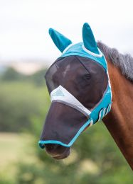 Shires Flymask with ears and nose