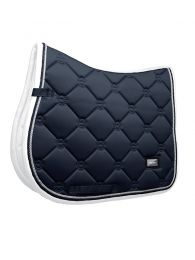 Equestrian Stockholm Jumping Saddle Pad Midnight Blue Edge