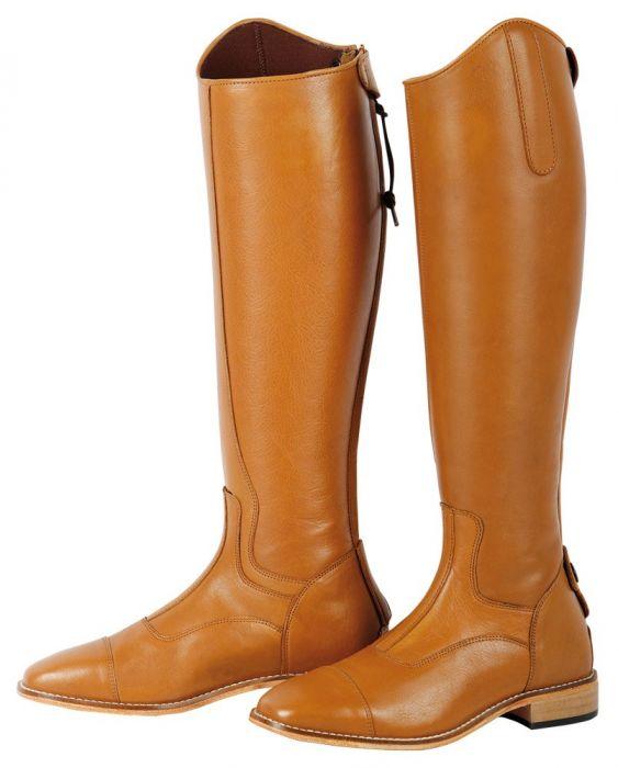 Deluxe Boots Masta Open Tendon Boot-pony Brown
