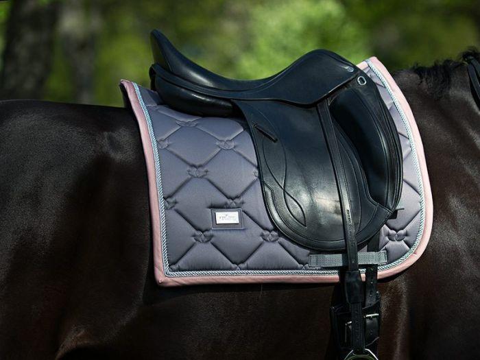 Equestrian Stockholm dressage pad Dusty