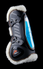eQuick eShock tendon boots Front Fluffy