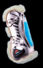 eQuick eShock tendon boots Front Fluffy LIMITED EDITION Rose Gold!