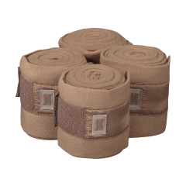Equito Fleece Bandages Milk Chocolate