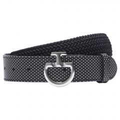 Cavalleria Toscana SS'21 Elastic Belt Perforated Leather Woman