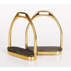 Harry's Horse Stainless Steel Stirrups Gold