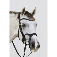 Montar Monarch anatomic snaffle bridle