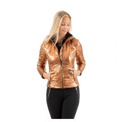 ANKY SS'21 Quilted Jacket Copper