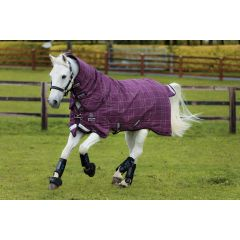 Rhino Pony Plus Medium with Vari-Layer Berry/Grey/White check & berry 250gr