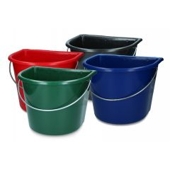 Vplast Feed trough 15l with hooks and handle